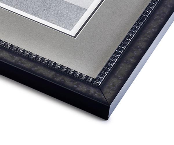 Gray Beaded Frame
